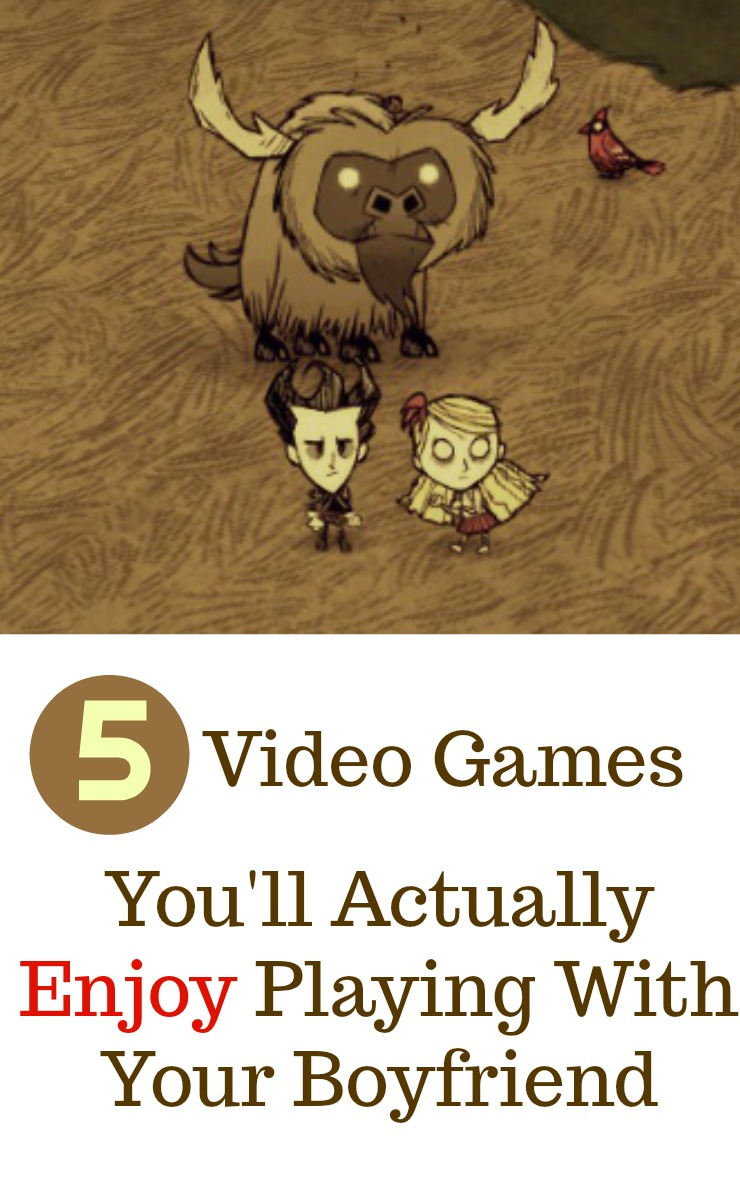 5 video games that you'll actually enjoy playing with your boyfriend