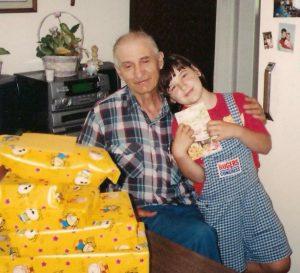 Papa and I