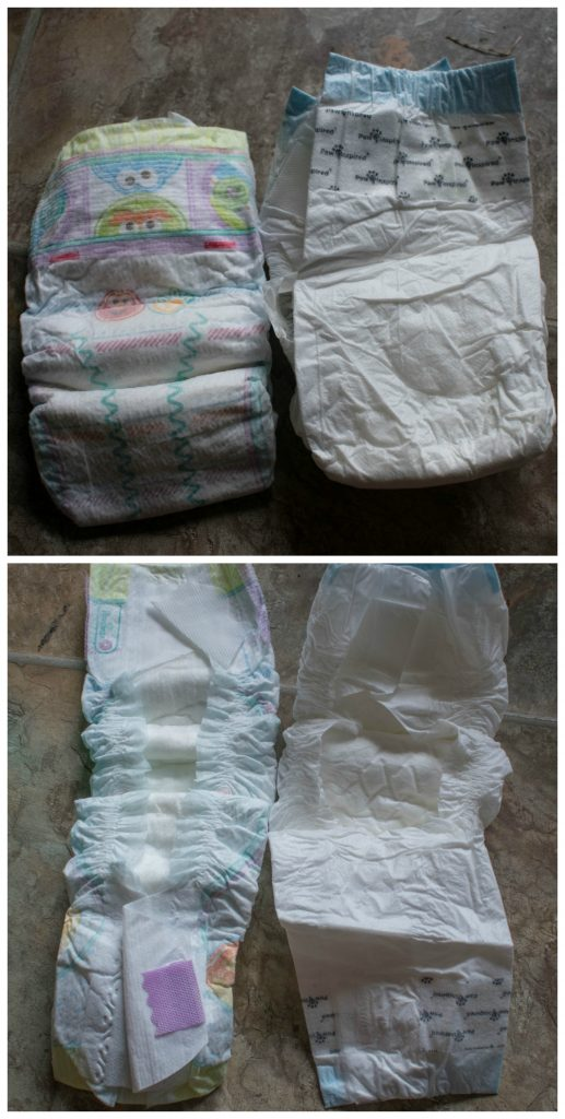 baby diaper vs dog diaper size and fit