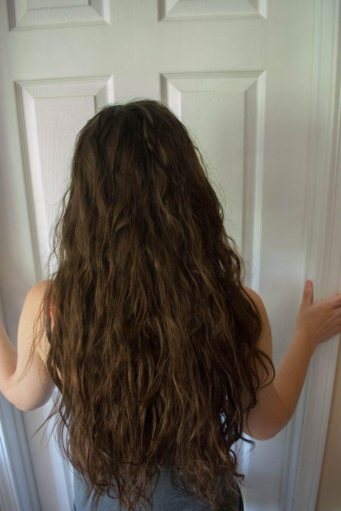 Curly girl method 1 week