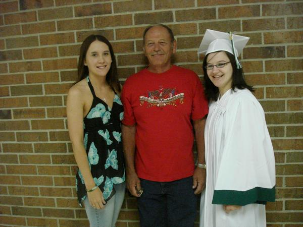 My high school graduation dad erica