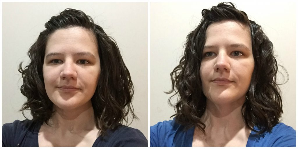 Mousse vs gel for wavy hair curly girl method