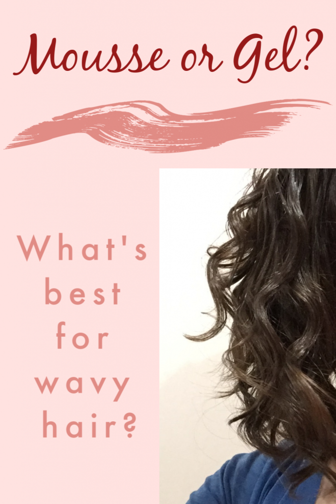 Mousse vs gel for curly hair or wavy hair. Which is better on the curly girl method?